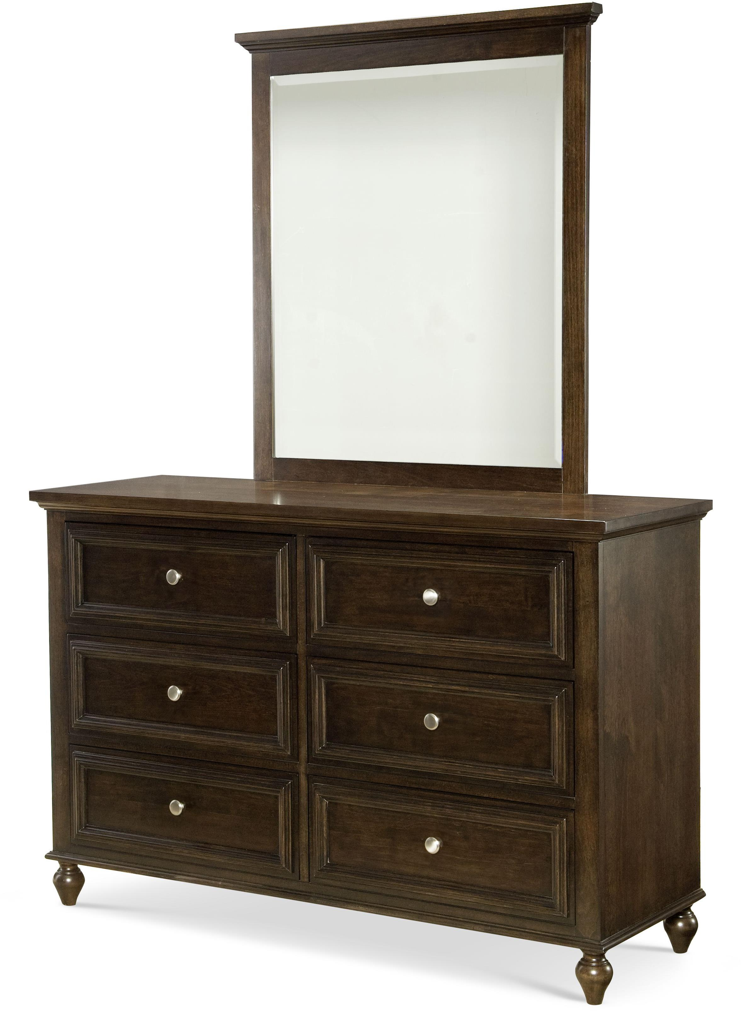 Legacy Classic Kids Academy Dresser and Mirror Set - Item Number: 5810-1100+0100