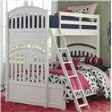 Legacy Classic Kids Academy Twin over Full Bunk Bed - Item Number: 5811-8140K