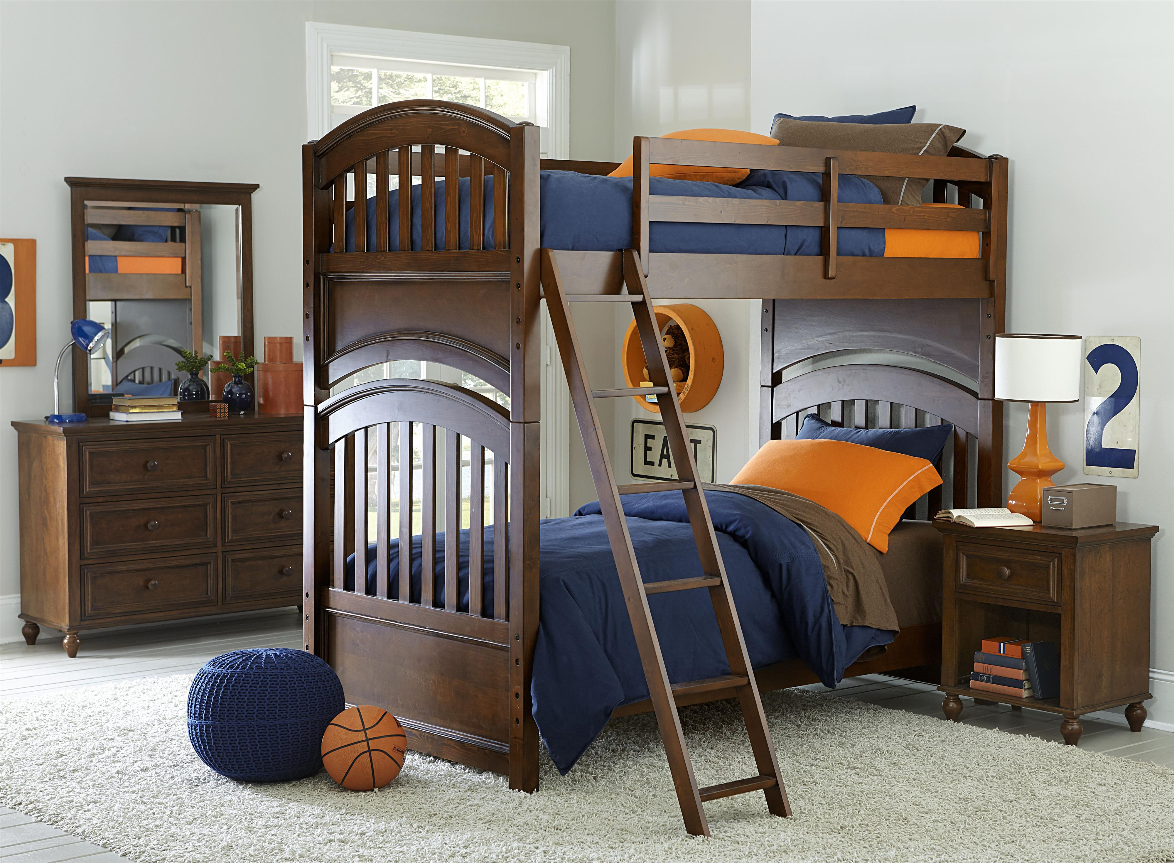 Legacy Classic Kids Academy Twin Bedroom Group - Item Number: 5812 T Bedroom Group 2