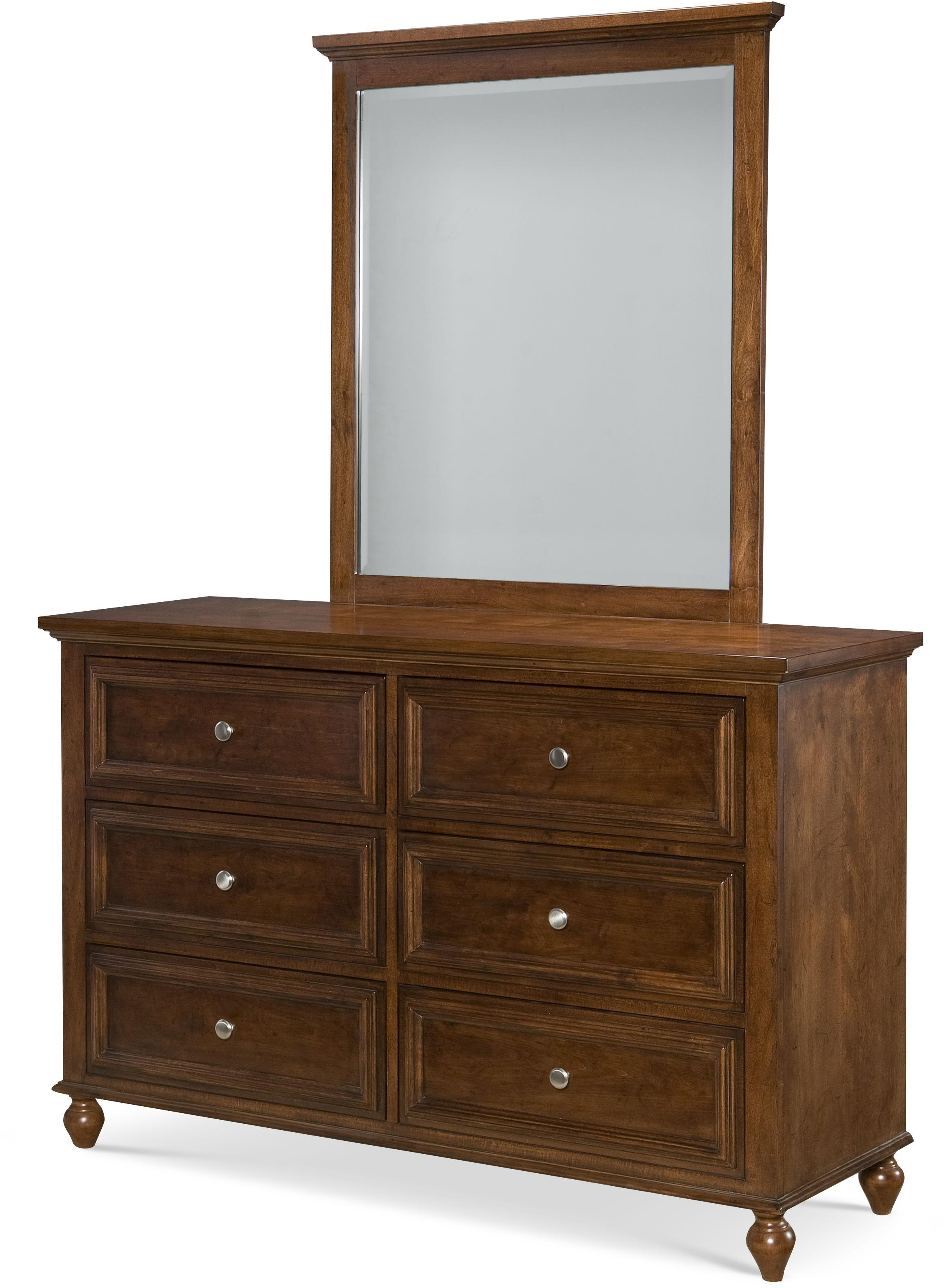 Legacy Classic Kids Academy Dresser and Mirror Set - Item Number: 5812-1100+0100