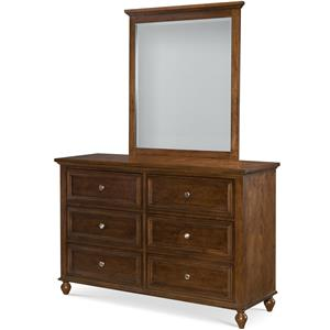 Legacy Classic Kids Academy Dresser and Mirror Set