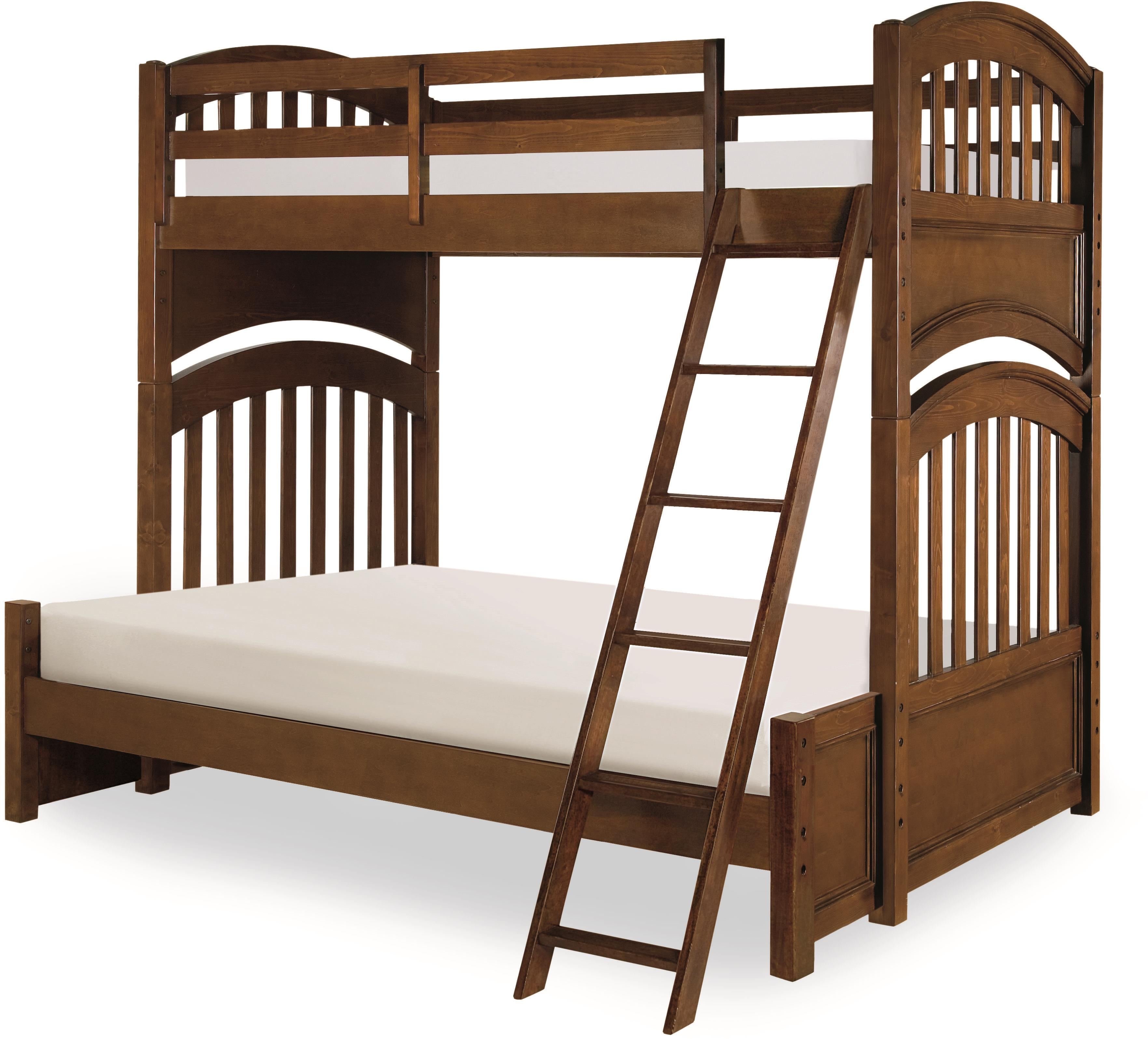 Legacy Classic Kids Academy Twin over Full Bunk Bed - Item Number: 5812-8140K