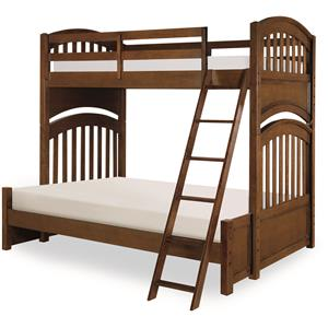 Legacy Classic Kids Academy Twin over Full Bunk Bed