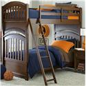 Legacy Classic Kids Academy Full over Full Bunk Bed - Item Number: 5812-8150K