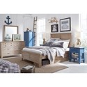 Legacy Classic Kids Beach House Full Bedroom Group - Item Number: 9840 F Bedroom Group 1