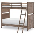 Legacy Classic Kids Beach House Complete Twin over Twin Bunk  - Item Number: 9840-8110K
