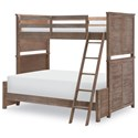 Legacy Classic Kids Beach House Complete Twin over Full Bunk  - Item Number: 9840-8140K