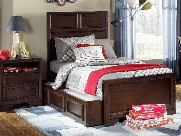 Bench Mark Twin Bed by Legacy Classic Kids at Stoney Creek Furniture
