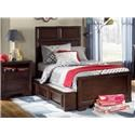 Legacy Classic Kids Bench Mark Twin Bed - Item Number: 2970