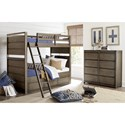 Legacy Classic Kids Big Sky by Wendy Bellissimo 8 Drawer Double Chest