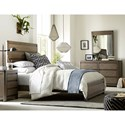 Legacy Classic Kids Big Sky by Wendy Bellissimo Queen Panel Bed with Adjustable Rails