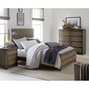 Legacy Classic Kids Big Sky by Wendy Bellissimo Upholstered Full Bed with Laced Headboard