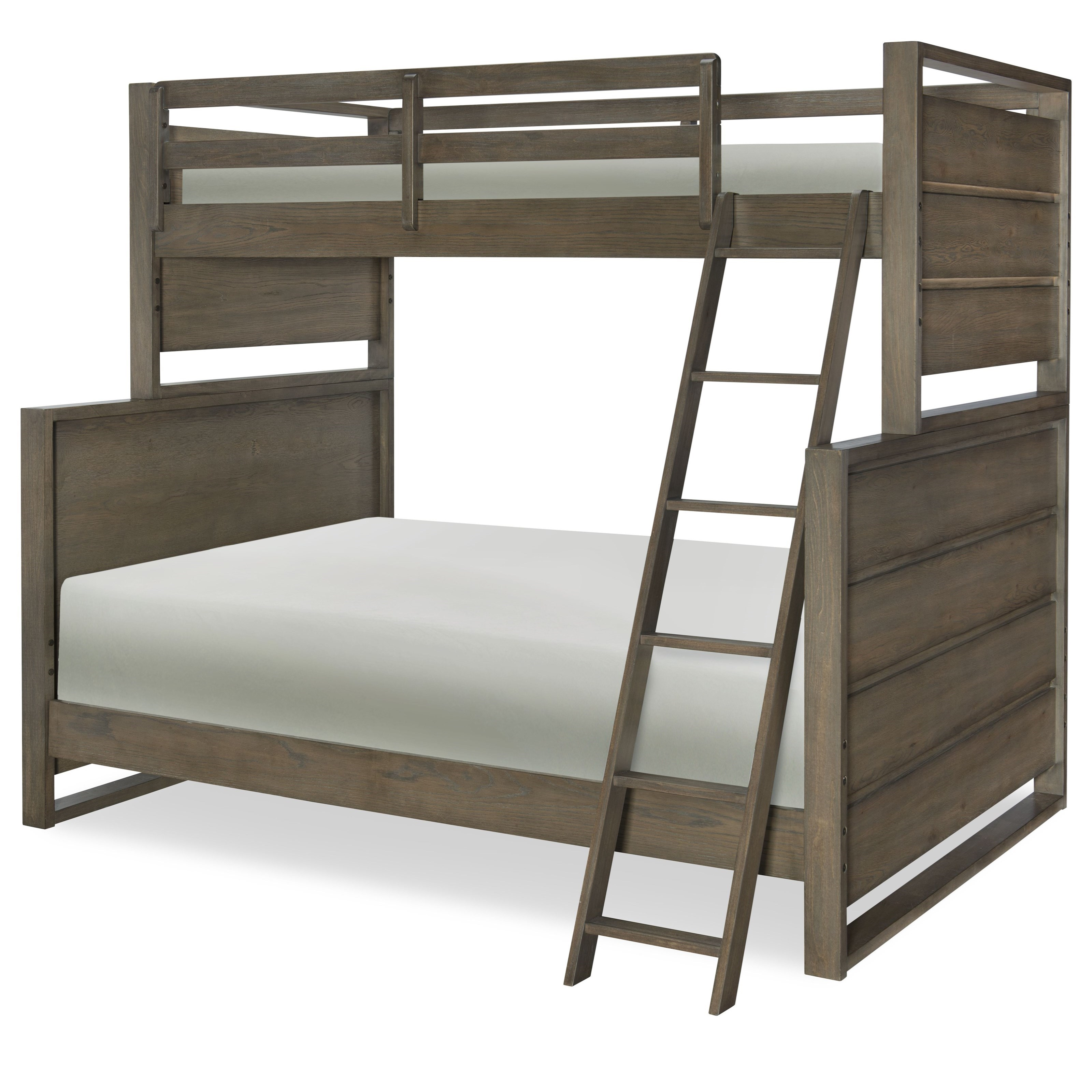 Legacy Classic Kids Big Sky By Wendy Bellissimo Twin Over Full Bunk Bed With Ladder And Guard