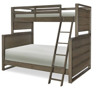 Legacy Classic Kids Big Sky by Wendy Bellissimo Twin Over Full Bunk Bed