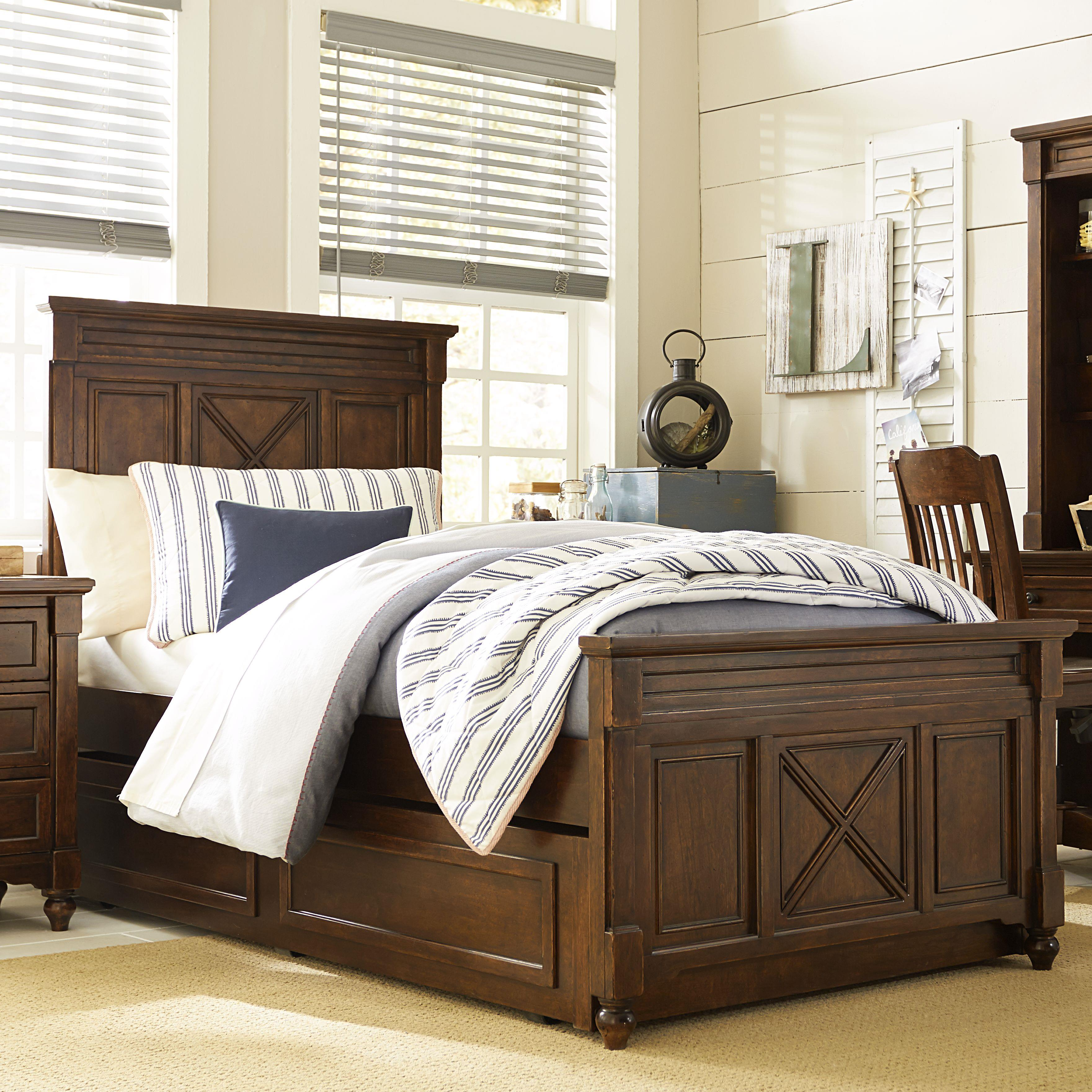 Legacy Classic Kids Big Sur by Wendy Bellissimo Twin Panel Bed with Trundle - Item Number: 4920-4103K+9500