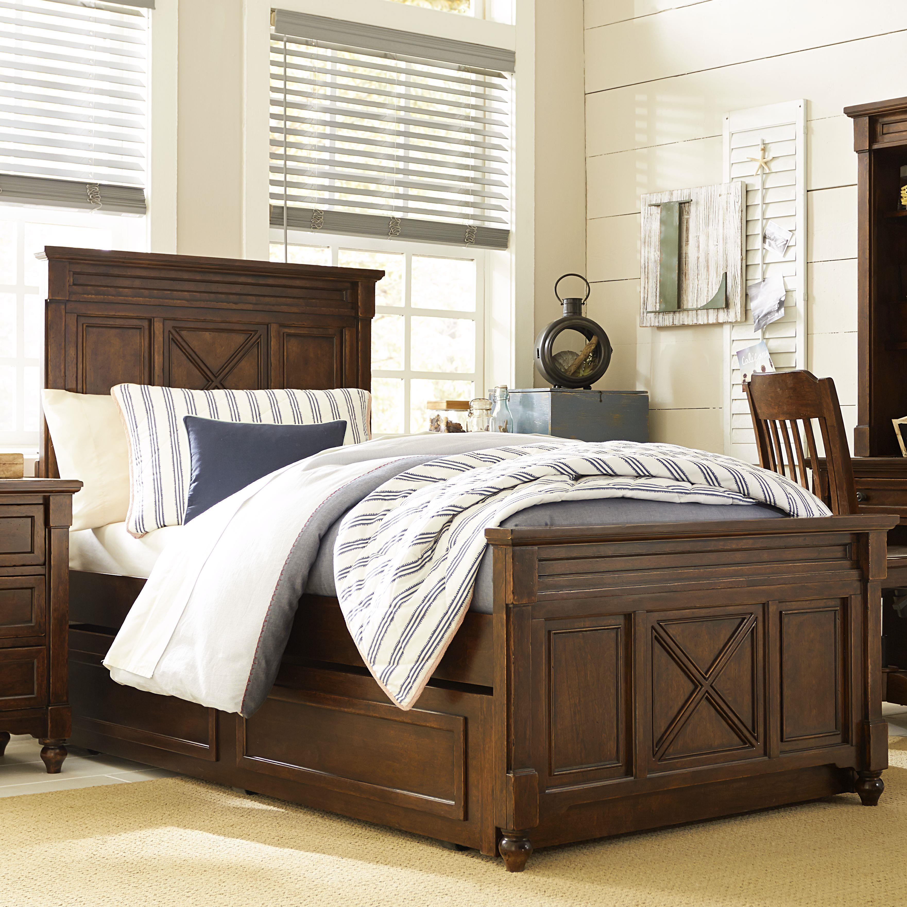 Legacy Classic Kids Big Sur by Wendy Bellissimo Full Panel Bed - Item Number: 4920-4104K+9500