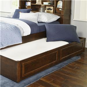 Legacy Classic Kids Big Sur by Wendy Bellissimo Twin Bookcase Bed with Trundle Storage Drawer