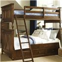 Legacy Classic Kids Big Sur by Wendy Bellissimo  Twin over Twin Bunk Bed  - Item Number: 4920-8110K+9300