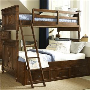 Legacy Classic Kids Big Sur by Wendy Bellissimo Twin over Full Bunk Bed