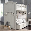 Legacy Classic Kids Brookhaven Youth Twin Bunk Bed - Item Number: 8940-8110K+9500