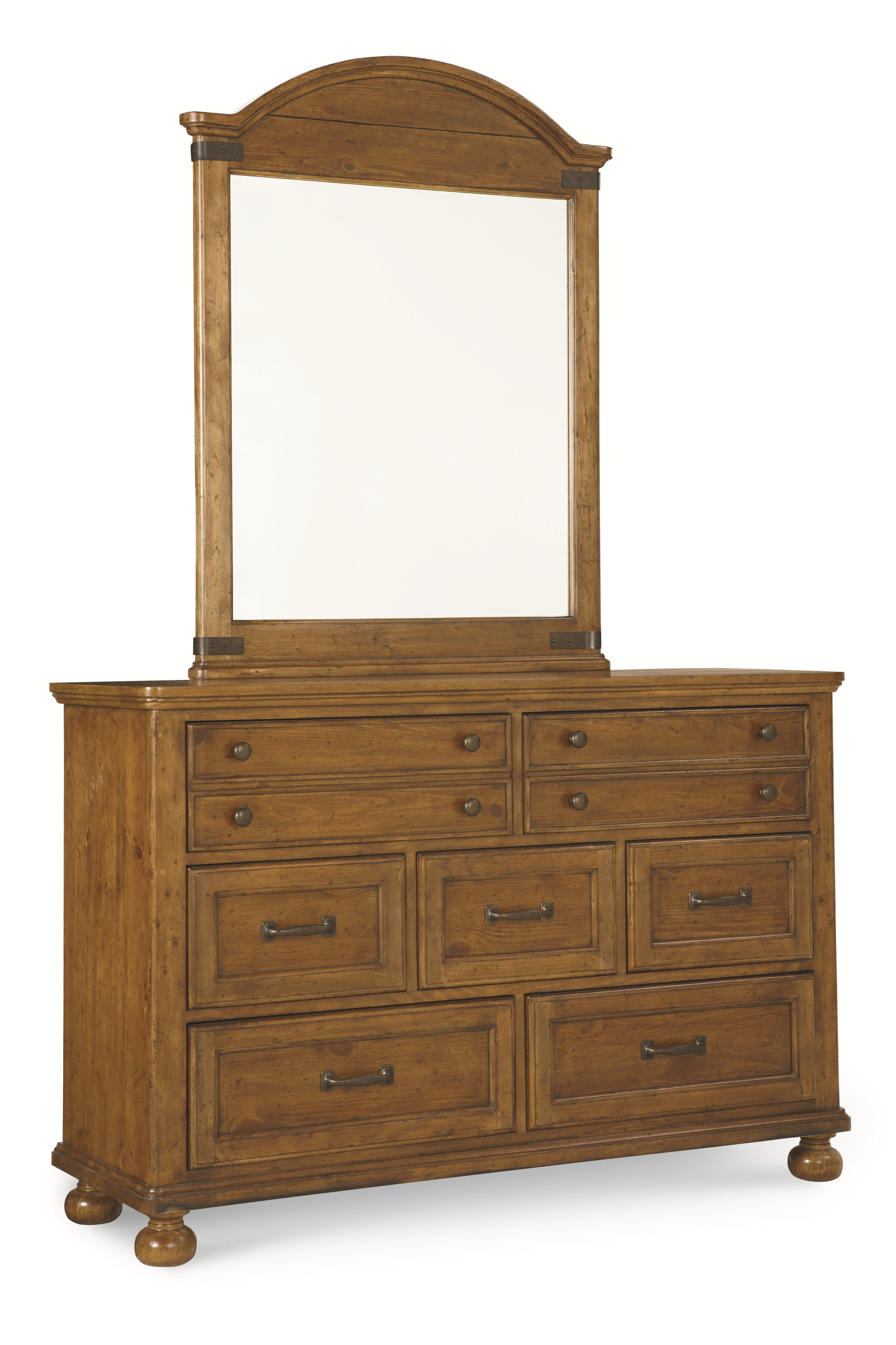 Legacy Classic Kids Bryce Canyon 7 Drawer Dresser And Arched Mirror Set Belfort Furniture