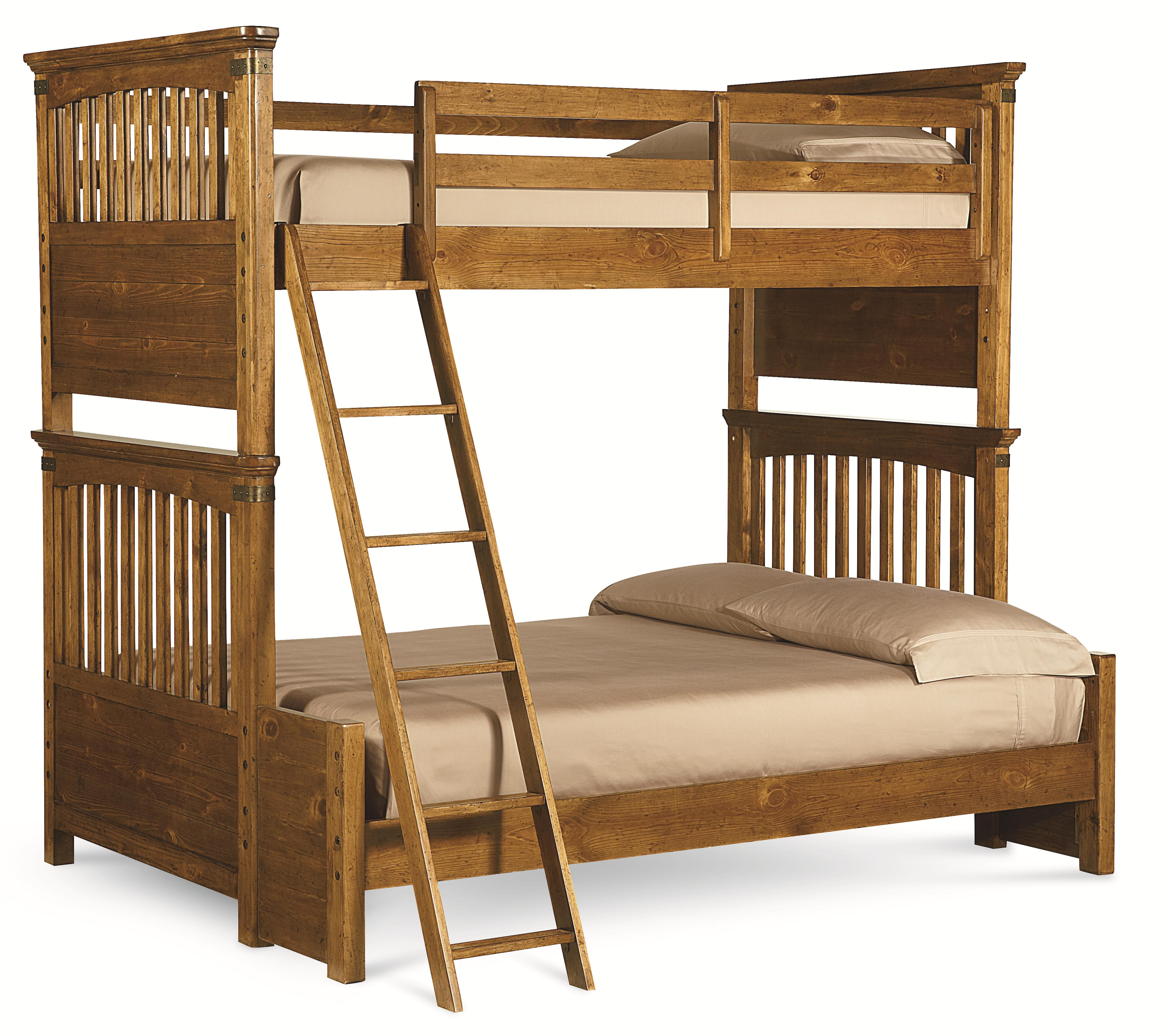 Legacy Classic Kids Bryce Canyon Twin Over Full Bunk Bed - Item Number: 3900-8140K
