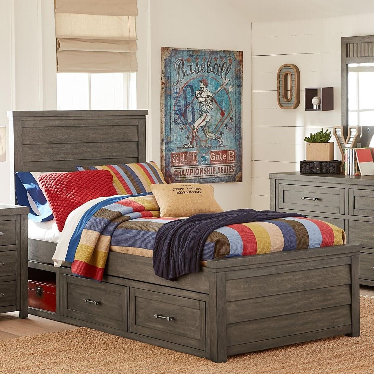 Bunkhouse Twin Panel Bed by Legacy Classic Kids at Virginia Furniture Market