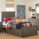 Legacy Classic Kids Bunkhouse Twin Panel Bed - Item Number: 8830-4103K+9300