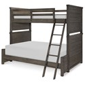 Legacy Classic Kids Bunkhouse Twin over Full Bunk Bed - Item Number: 8830-8140K