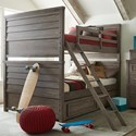 Legacy Classic Kids Bunkhouse Full over Full Bunk Bed with Trundle Storage - Item Number: 8830-8150K+9500