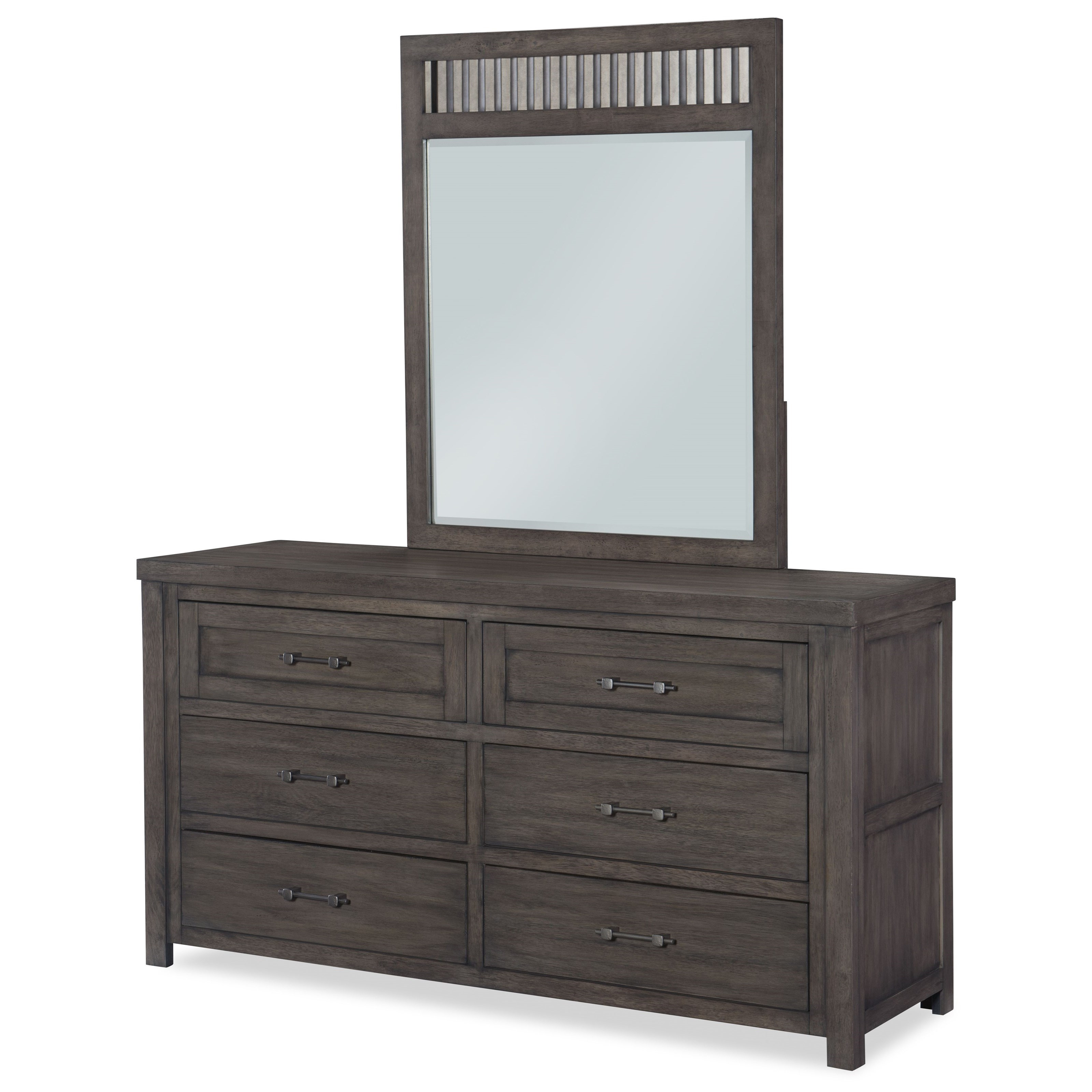Bunkhouse Dresser and Mirror by Legacy Classic Kids at Darvin Furniture