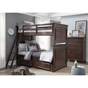 Legacy Classic Kids Canterbury Twin-over-Twin Bunk Bedroom Group - Item Number: 9814 T Bedroom Group 1