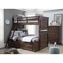 Legacy Classic Kids Canterbury Twin-over-Full Bunk Bedroom Group - Item Number: 9814 TF Bedroom Group