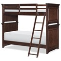 Legacy Classic Kids Canterbury Twin over Twin Bunk  - Item Number: 9814-8110K
