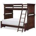 Legacy Classic Kids Canterbury Twin over Full Bunk  - Item Number: 9814-8140K