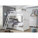 Legacy Classic Kids Canterbury Twin-over-Twin Bunk Bedroom Group - Item Number: 9815 T Bedroom Group 1