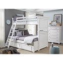 Legacy Classic Kids Canterbury Twin-over-Full Bunk Bedroom Group - Item Number: 9815 TF Bedroom Group