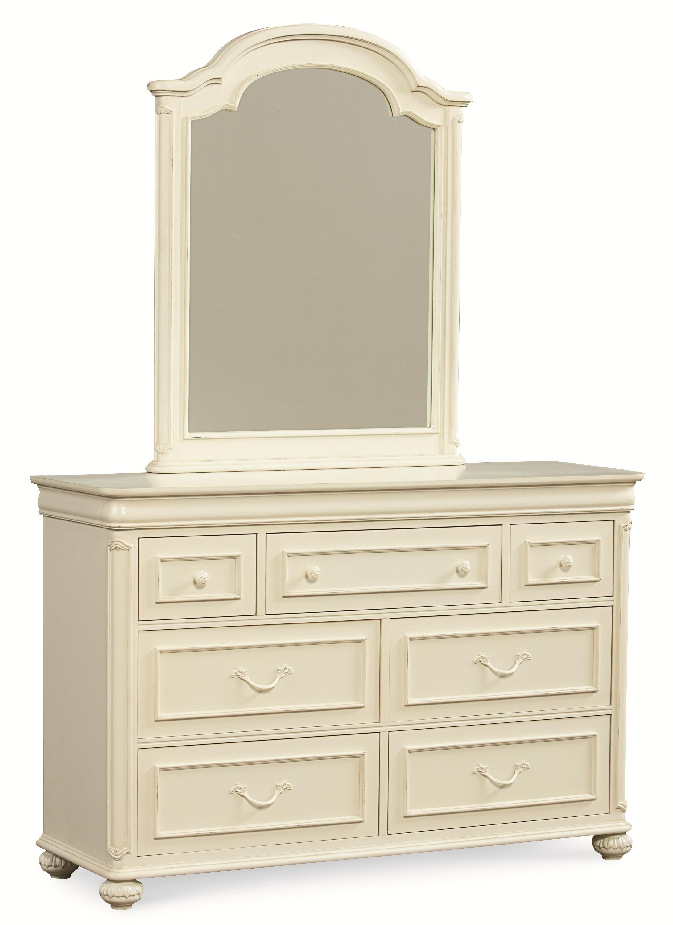 Legacy Classic Kids Charlotte Dresser and Mirror Set - Item Number: 3850-1100+0200