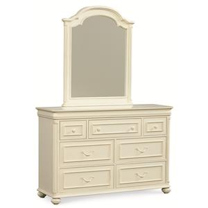 Legacy Classic Kids Charlotte Dresser and Mirror Set