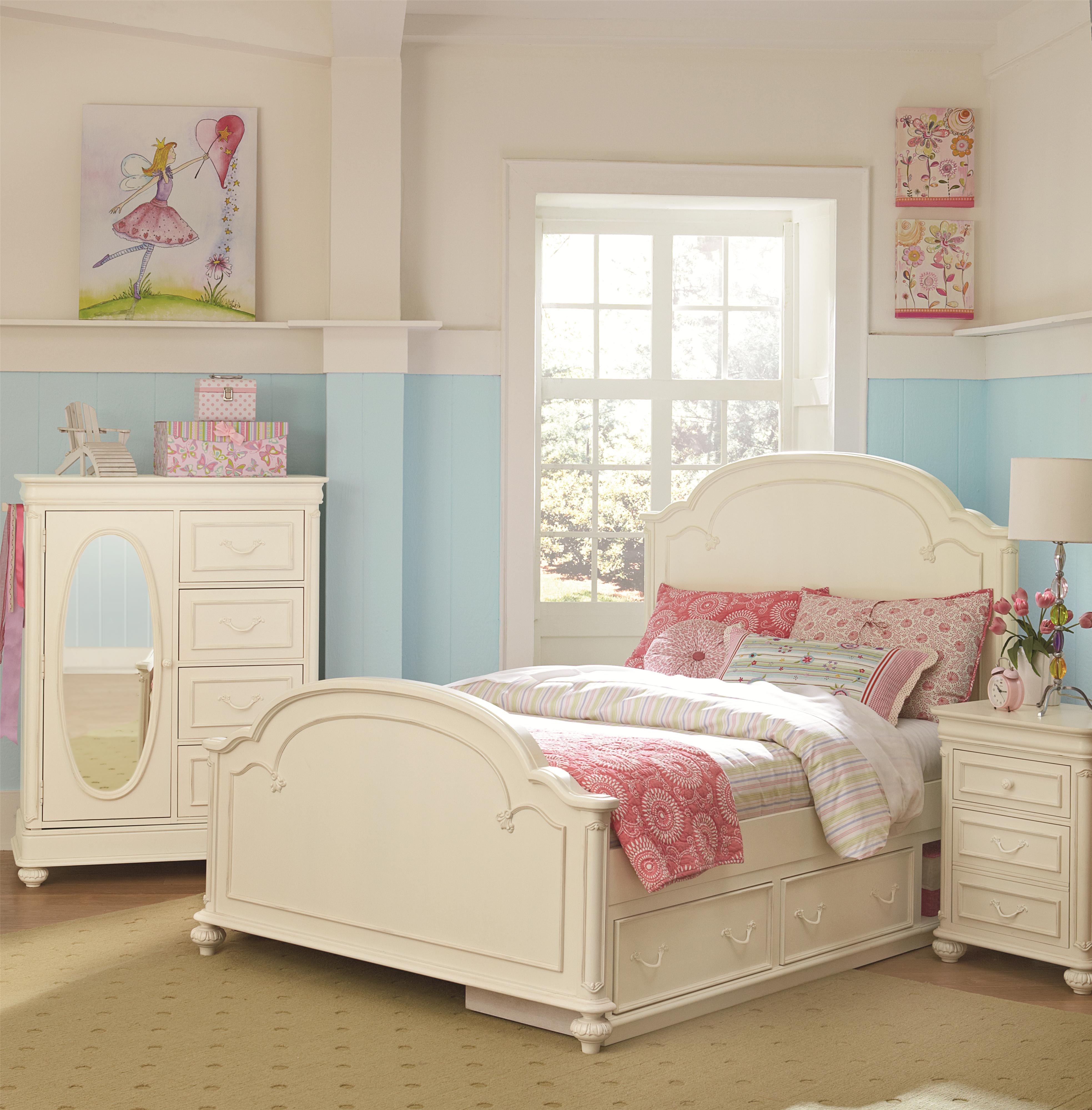 Legacy Classic Kids Charlotte Full Arched Panel Bed