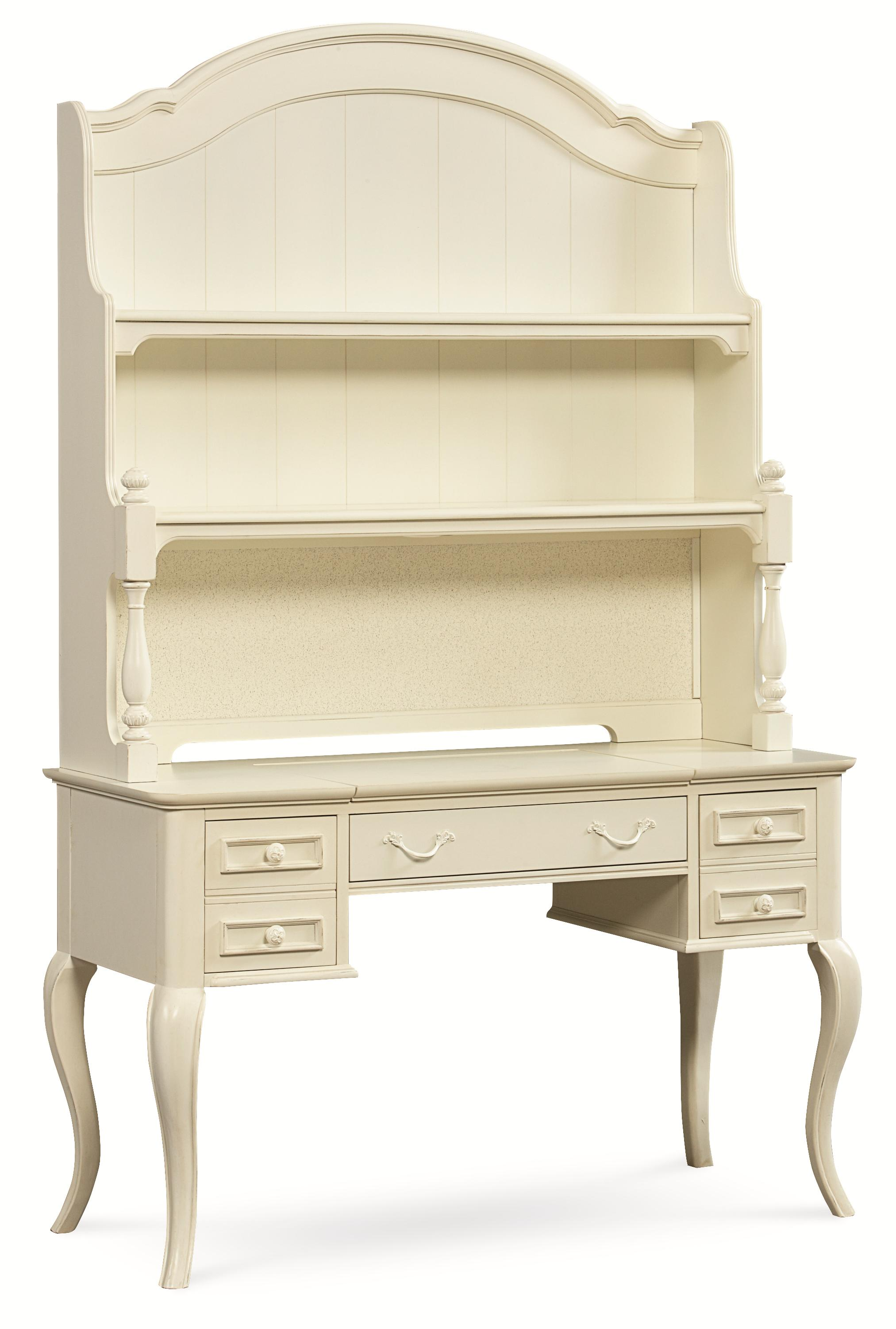 Legacy Classic Kids Charlotte Desk with Hutch - Item Number: 3850-6100+6200