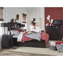 Legacy Classic Kids Crossroads Twin Bedroom Group - Item Number: 7880 T Bedroom Group 2