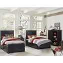 Legacy Classic Kids Crossroads Twin Bedroom Group - Item Number: 7880 T Bedroom Group 4
