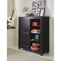 Legacy Classic Kids Crossroads Black Sliding Door Chest with 5 Drawers