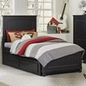 Legacy Classic Kids Crossroads Full Panel Bed with Storage Trundle - Item Number: 7880-4104K+9500