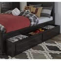 Legacy Classic Kids Crossroads Full Panel Bed with Storage Trundle
