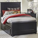 Legacy Classic Kids Crossroads Black Twin Panel Bed