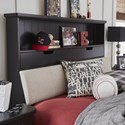 Legacy Classic Kids Crossroads Twin Upholstered Bookcase Bed - Bed Shown May Not Represent Exact Size Indicated