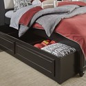 Legacy Classic Kids Crossroads Full Upholstered Bookcase Bed with Storage Trundle