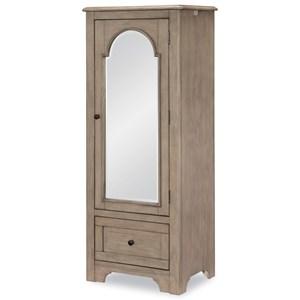 Mirrored Door Chest
